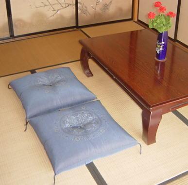 調和紬76紺(5枚組)